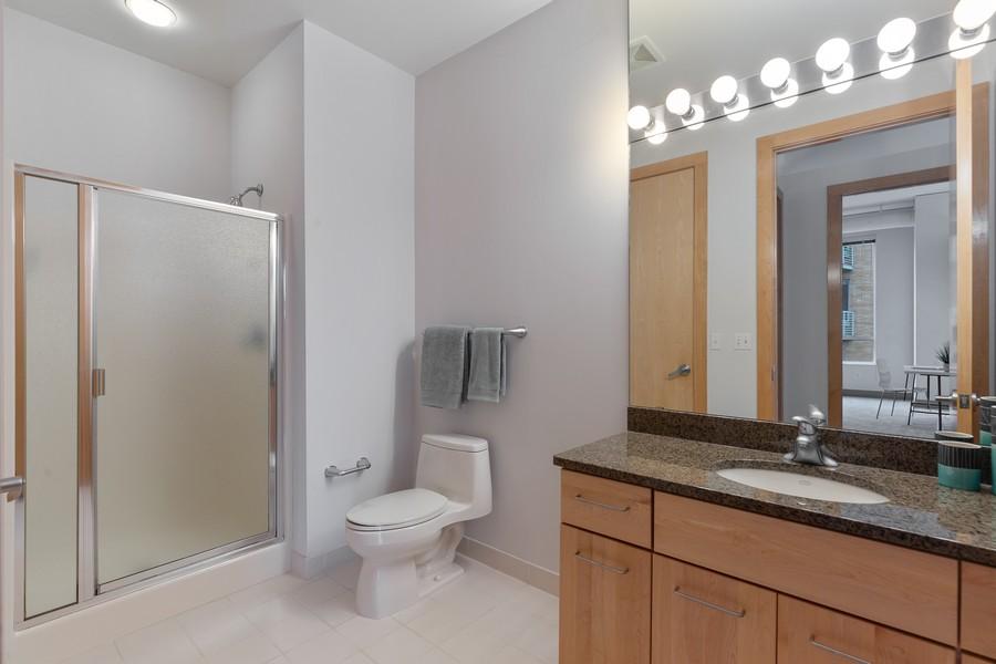 Real Estate Photography - 100 2nd Street NE #A350, Minneapolis, MN, 55413 - Bathroom