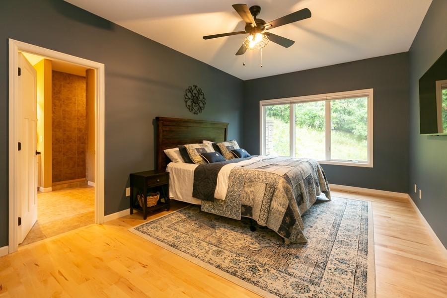 Real Estate Photography - 1040 10th st N, Hudson, WI, 54016 - Master Bedroom