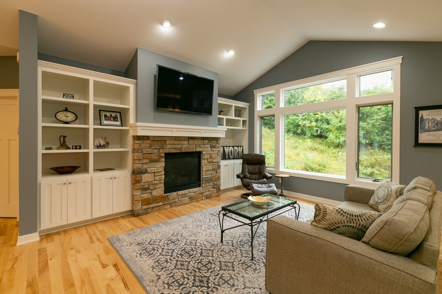 Real Estate Photography - 1040 10th st N, Hudson, WI, 54016 - Living Room