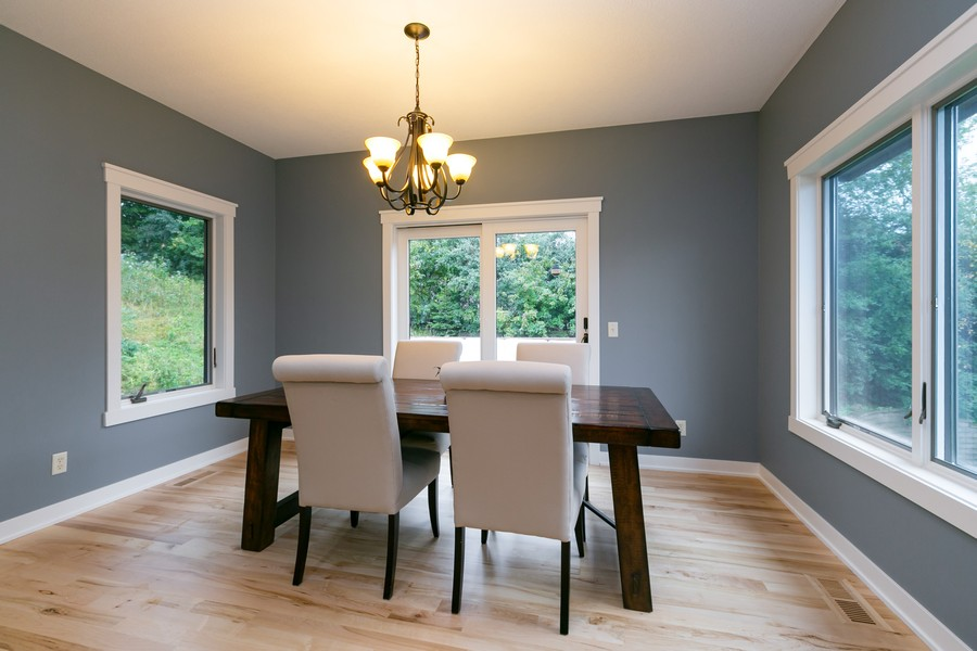 Real Estate Photography - 1040 10th st N, Hudson, WI, 54016 - Dining Room