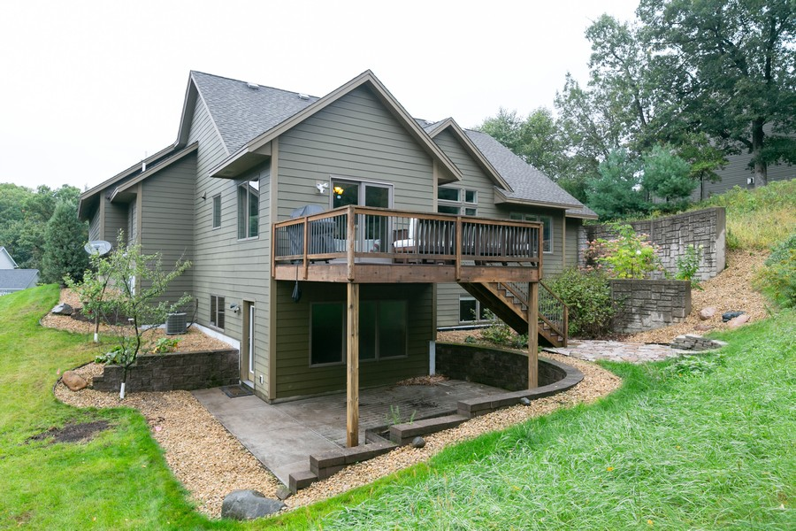 Real Estate Photography - 1040 10th st N, Hudson, WI, 54016 - Back Yard