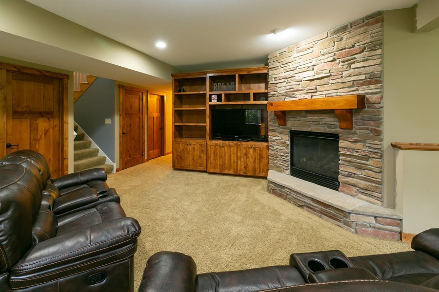 Real Estate Photography - 1040 10th st N, Hudson, WI, 54016 - Family Room