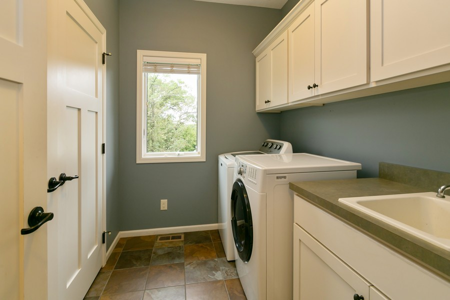 Real Estate Photography - 1040 10th st N, Hudson, WI, 54016 - Laundry Room