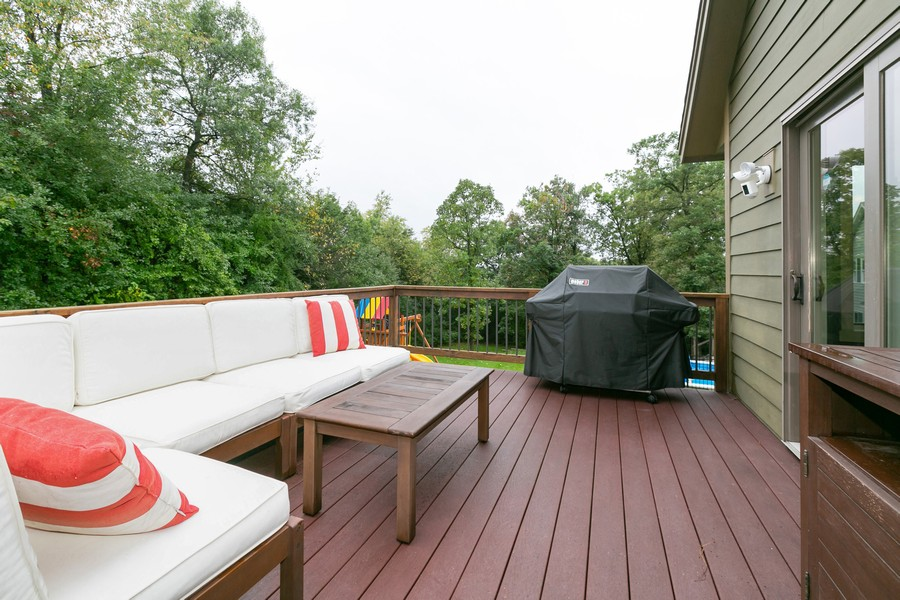 Real Estate Photography - 1040 10th st N, Hudson, WI, 54016 - Deck