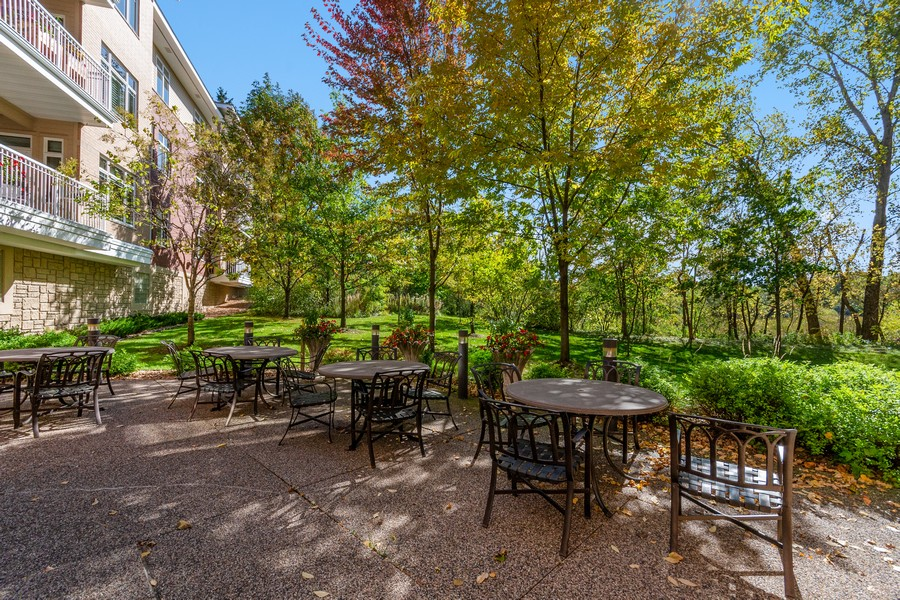 Real Estate Photography - 408 Parkers Lake Rd, Unit 201, Minnetonka, MN, 55391 - Patio