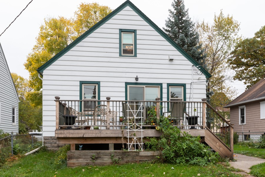 Real Estate Photography - 981 Oakdale Avenue, West Saint Paul, MN, 55118 - Rear View