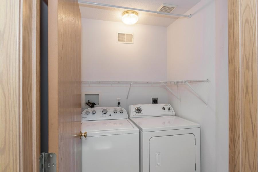Real Estate Photography - 9099 Scarlet Globe Dr, Eden Prairie, MN, 55347 - Laundry Room