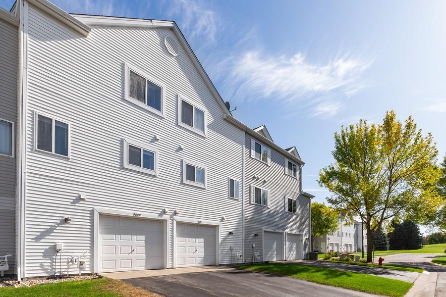 Real Estate Photography - 9099 Scarlet Globe Dr, Eden Prairie, MN, 55347 - Rear View