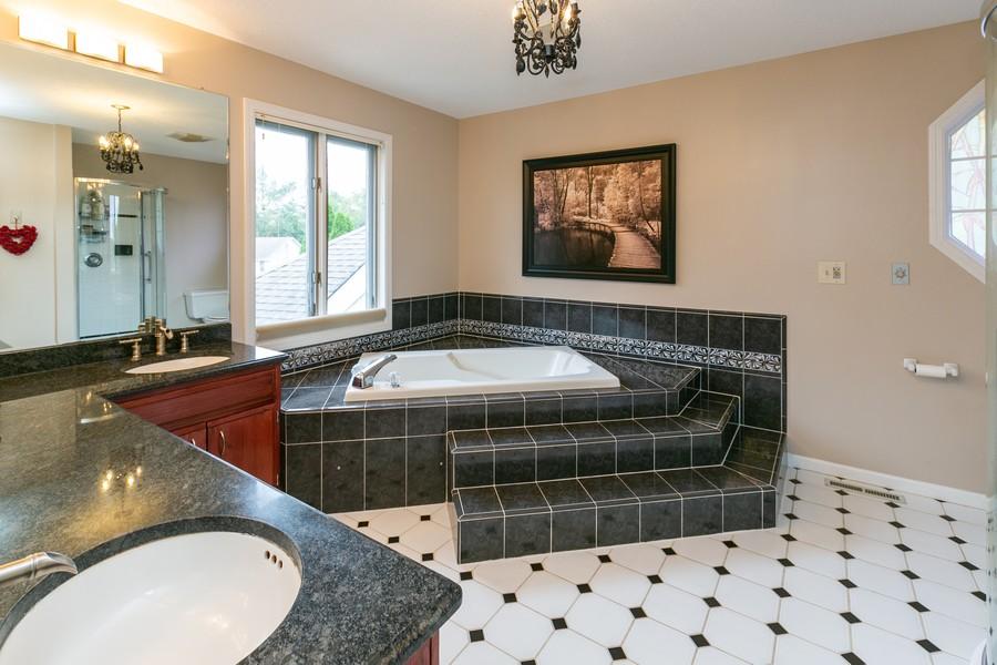 Real Estate Photography - 9046 Edinburgh Ln, Woodbury, MN, 55125 - Master Bathroom
