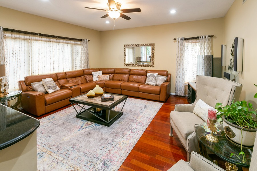 Real Estate Photography - 9046 Edinburgh Ln, Woodbury, MN, 55125 - Family Room