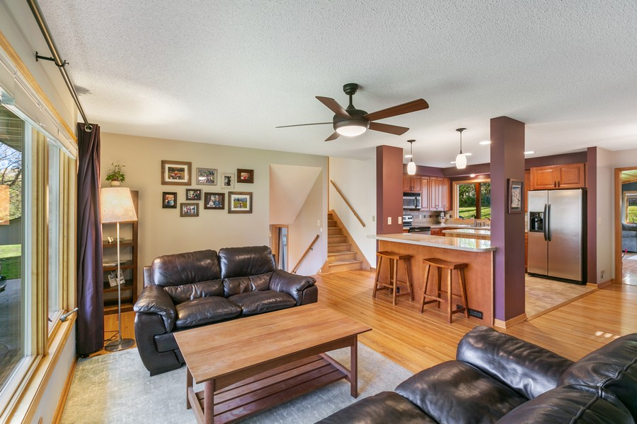 Real Estate Photography - 5717 Dale Ave, Edina, MN, 55436 - Living Room