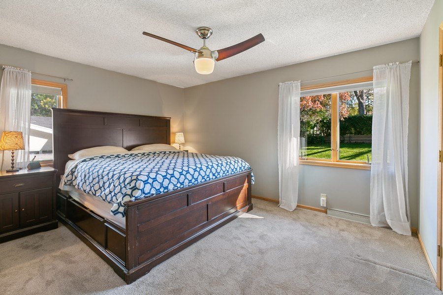 Real Estate Photography - 5717 Dale Ave, Edina, MN, 55436 - Master Bedroom