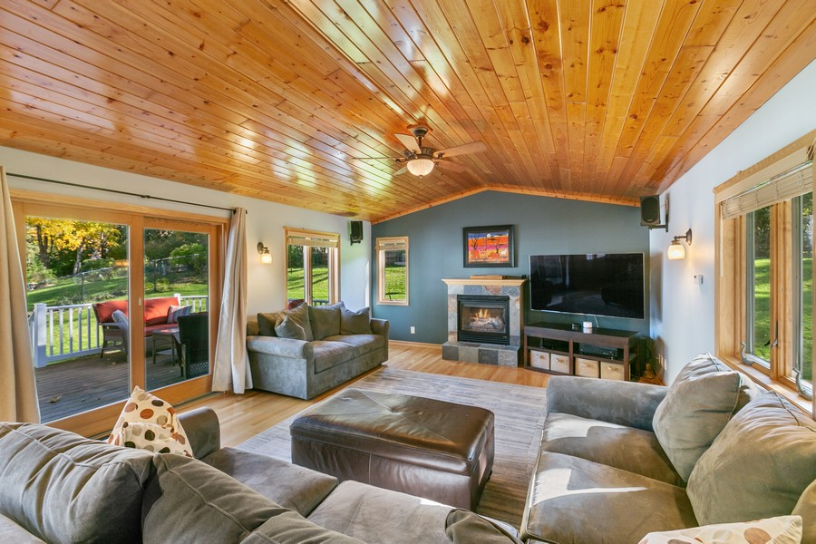 Real Estate Photography - 5717 Dale Ave, Edina, MN, 55436 - Family Room