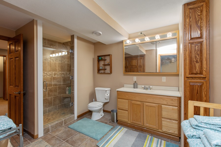 Real Estate Photography - 509 20th Street, Red Wing, MN, 55066 - 2nd Bathroom