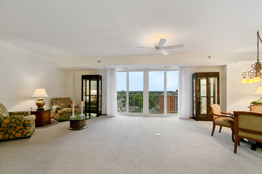 Real Estate Photography - 6600 Lyndale Ave S, Unit 1204, Richfield, MN, 55423 - Living Room