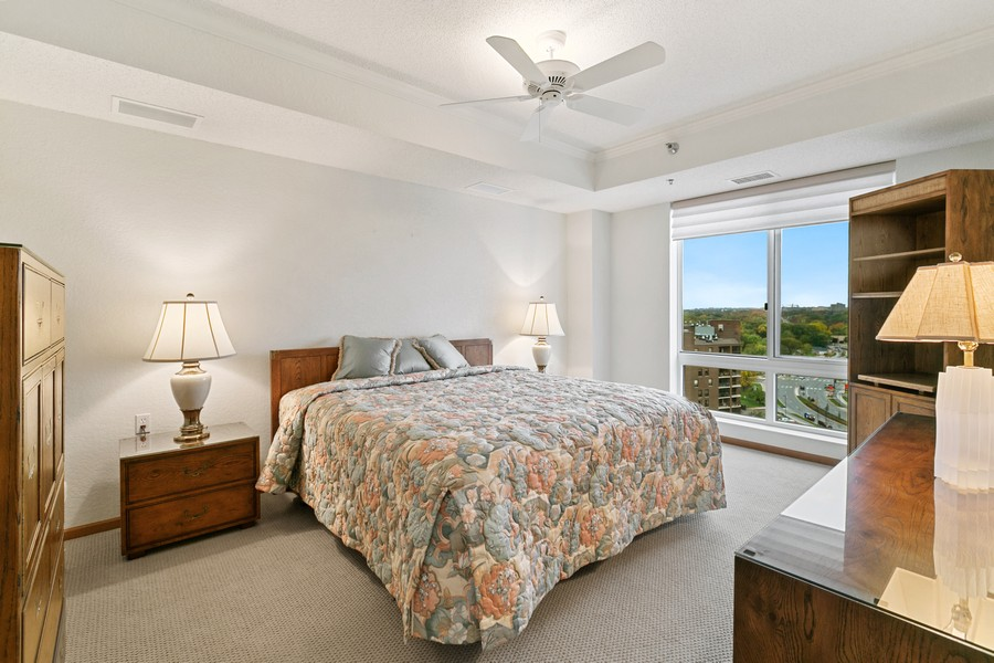 Real Estate Photography - 6600 Lyndale Ave S, Unit 1204, Richfield, MN, 55423 - Master Bedroom