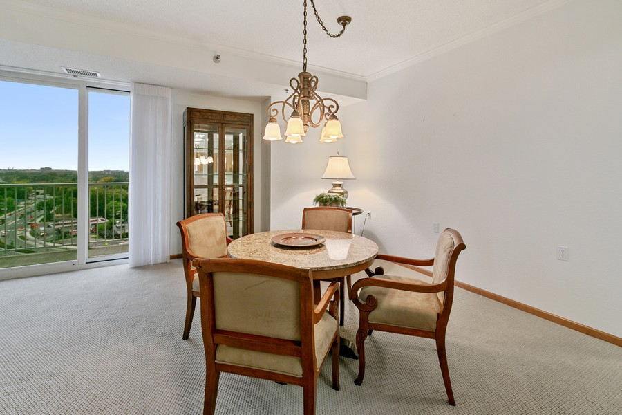 Real Estate Photography - 6600 Lyndale Ave S, Unit 1204, Richfield, MN, 55423 - Dining Room