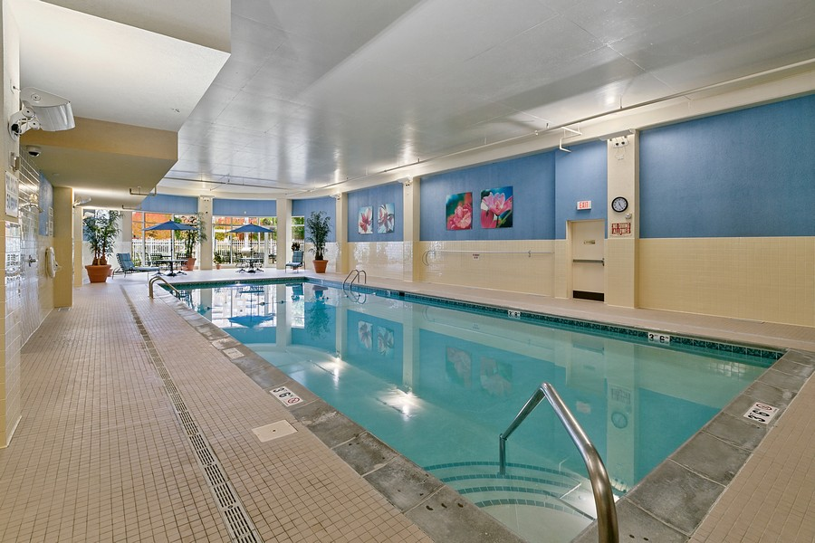 Real Estate Photography - 6600 Lyndale Ave S, Unit 1204, Richfield, MN, 55423 - Pool