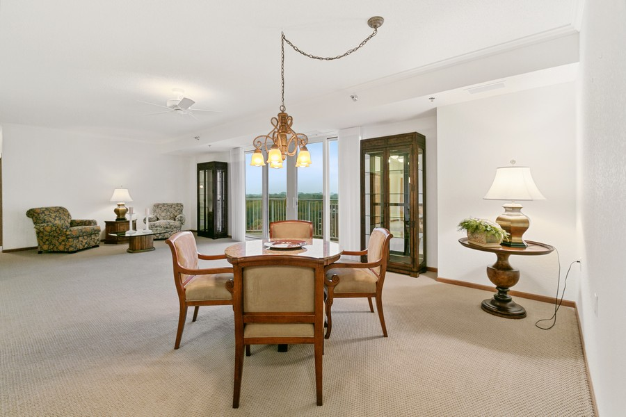 Real Estate Photography - 6600 Lyndale Ave S, Unit 1204, Richfield, MN, 55423 - Dining Area