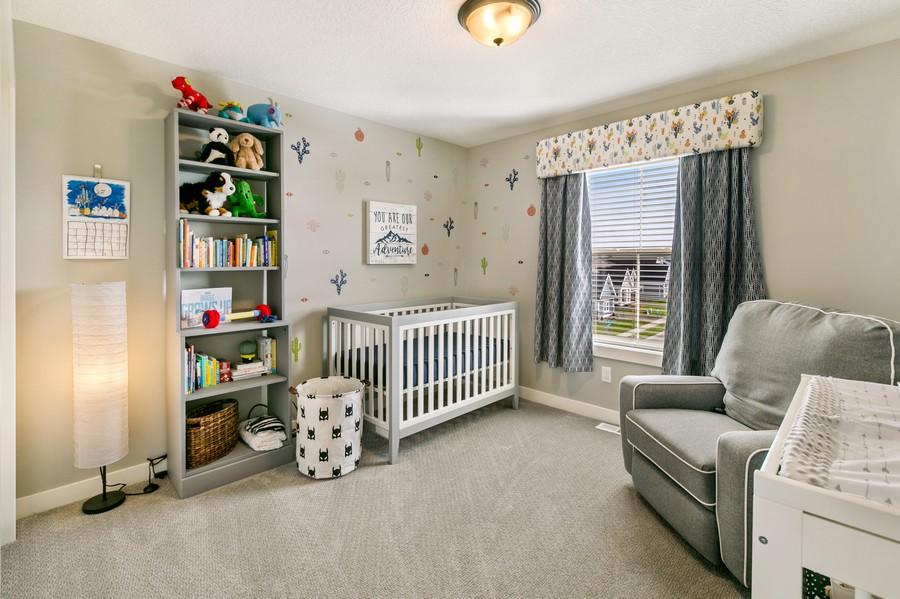 Real Estate Photography - 16219 Elkhorn Trail, Lakeville, MN, 55044 - 2nd Bedroom