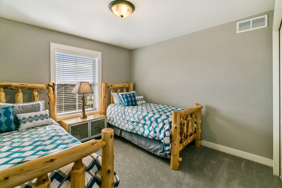 Real Estate Photography - 16219 Elkhorn Trail, Lakeville, MN, 55044 - 3rd Bedroom