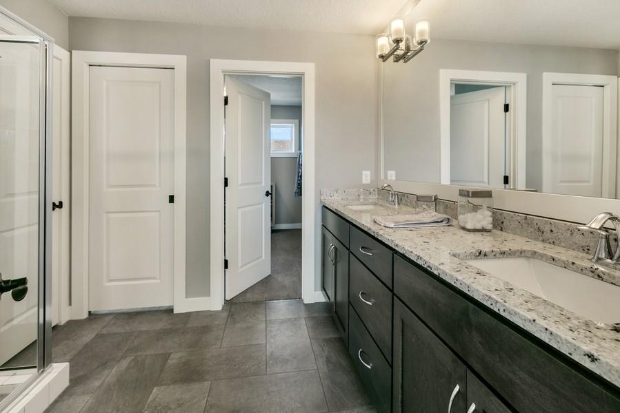 Real Estate Photography - 16219 Elkhorn Trail, Lakeville, MN, 55044 - Master Bathroom