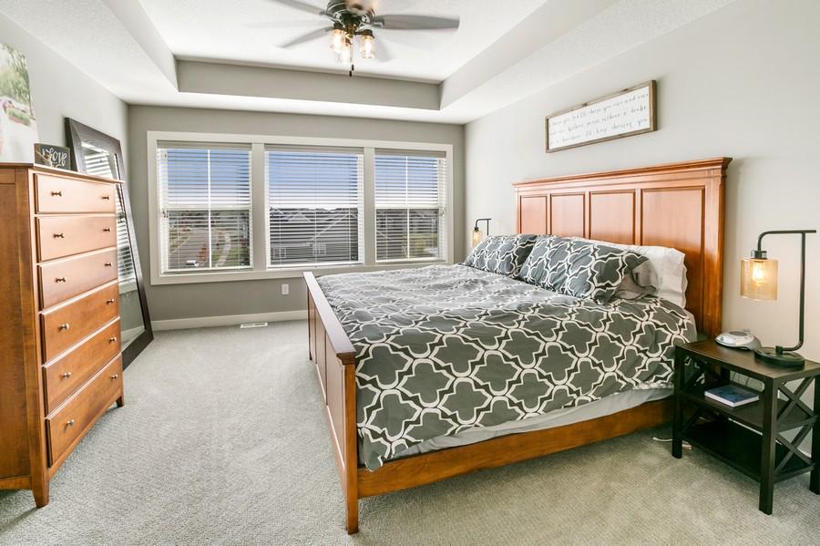 Real Estate Photography - 16219 Elkhorn Trail, Lakeville, MN, 55044 - Master Bedroom