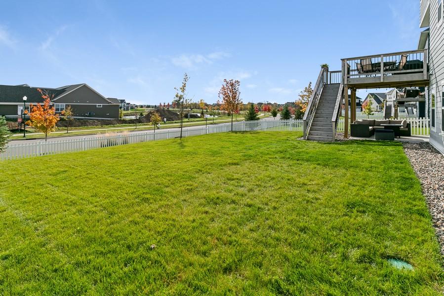 Real Estate Photography - 16219 Elkhorn Trail, Lakeville, MN, 55044 - Side Yard