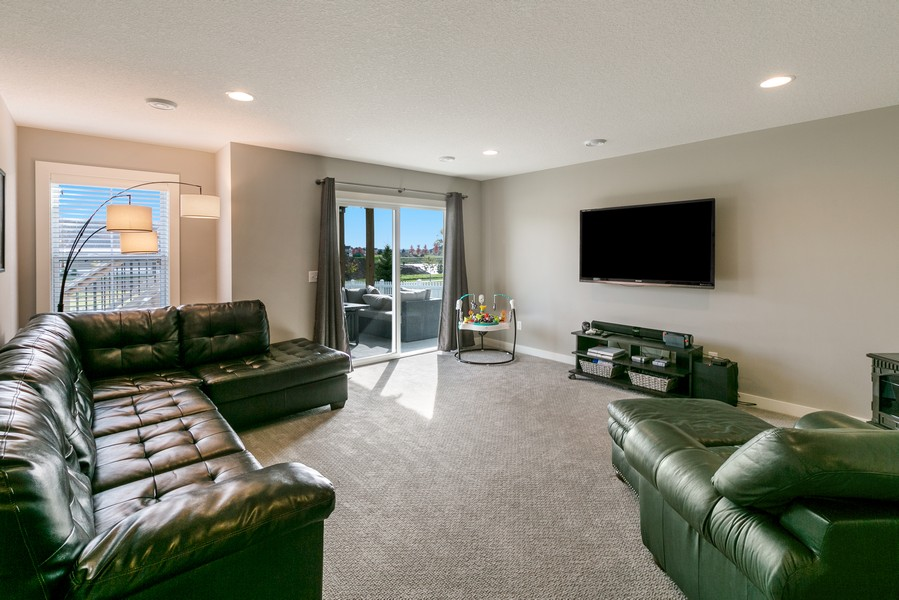 Real Estate Photography - 16219 Elkhorn Trail, Lakeville, MN, 55044 - Family Room