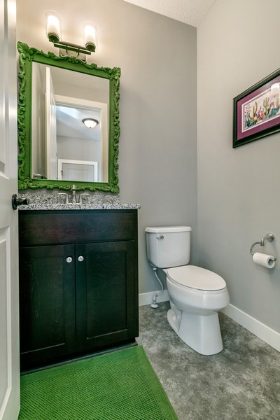 Real Estate Photography - 16219 Elkhorn Trail, Lakeville, MN, 55044 - Main floor 1/2 bath