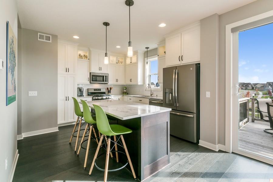 Real Estate Photography - 16219 Elkhorn Trail, Lakeville, MN, 55044 - Kitchen