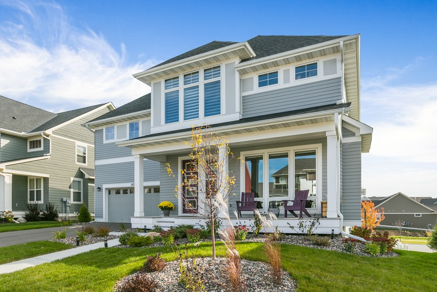Real Estate Photography - 16219 Elkhorn Trail, Lakeville, MN, 55044 - Front View