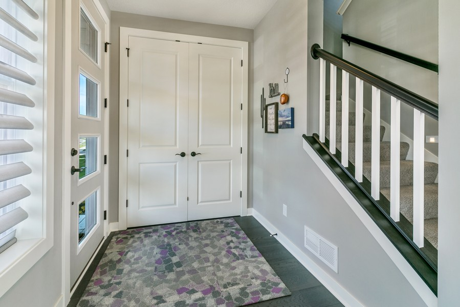 Real Estate Photography - 16219 Elkhorn Trail, Lakeville, MN, 55044 - Entryway