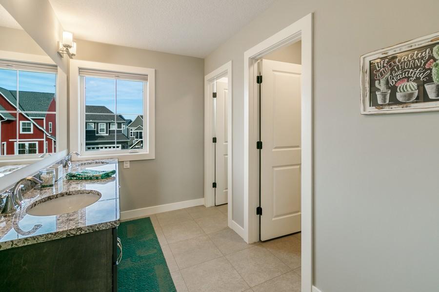 Real Estate Photography - 16219 Elkhorn Trail, Lakeville, MN, 55044 - Upper full bath