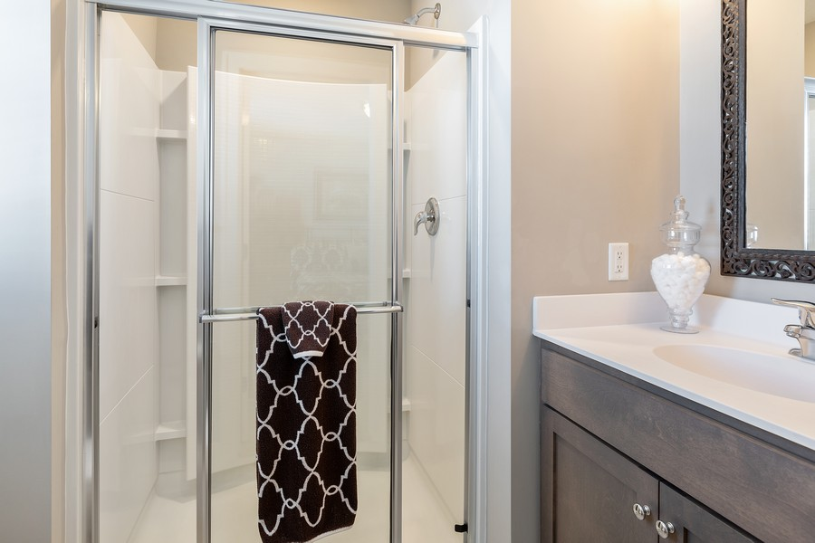 Real Estate Photography - 16646 Early Dawn Trail, Lakeville, MN, 55044 - 4th Bathroom