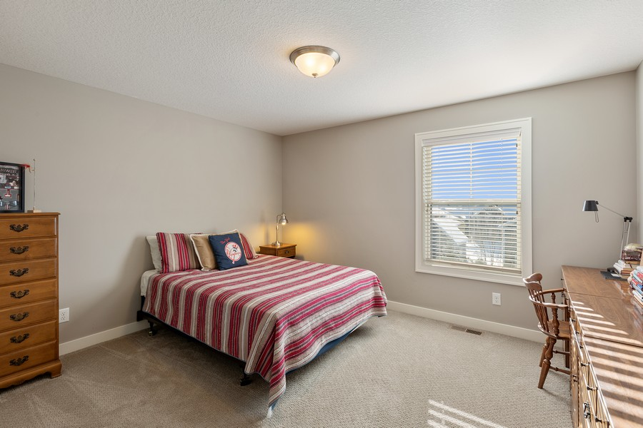 Real Estate Photography - 16646 Early Dawn Trail, Lakeville, MN, 55044 - 2nd Bedroom
