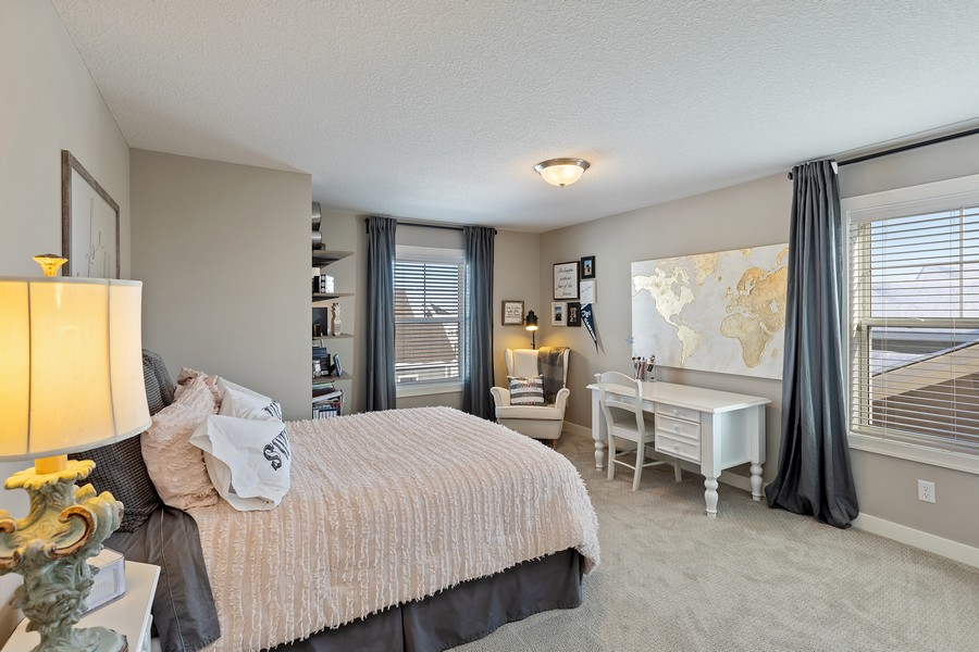 Real Estate Photography - 16646 Early Dawn Trail, Lakeville, MN, 55044 - 3rd Bedroom