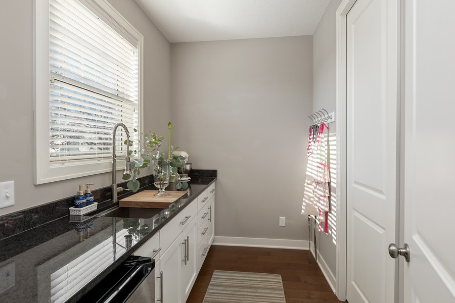 Real Estate Photography - 16646 Early Dawn Trail, Lakeville, MN, 55044 - Butler's pantry