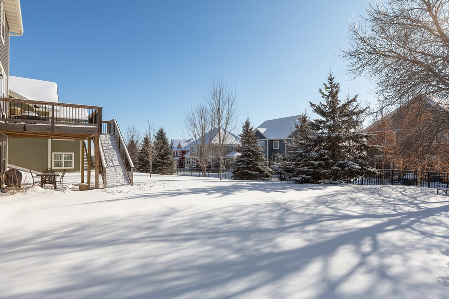 Real Estate Photography - 16646 Early Dawn Trail, Lakeville, MN, 55044 - Back Yard