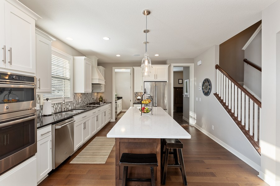 Real Estate Photography - 16646 Early Dawn Trail, Lakeville, MN, 55044 - Kitchen