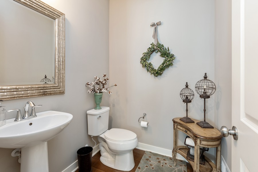 Real Estate Photography - 16646 Early Dawn Trail, Lakeville, MN, 55044 - Half Bath