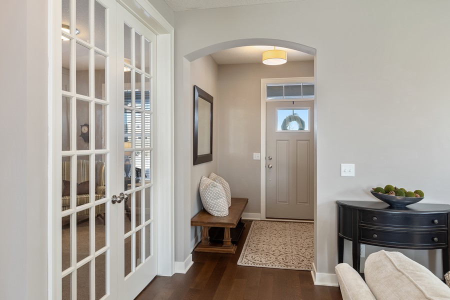 Real Estate Photography - 16646 Early Dawn Trail, Lakeville, MN, 55044 - Entryway