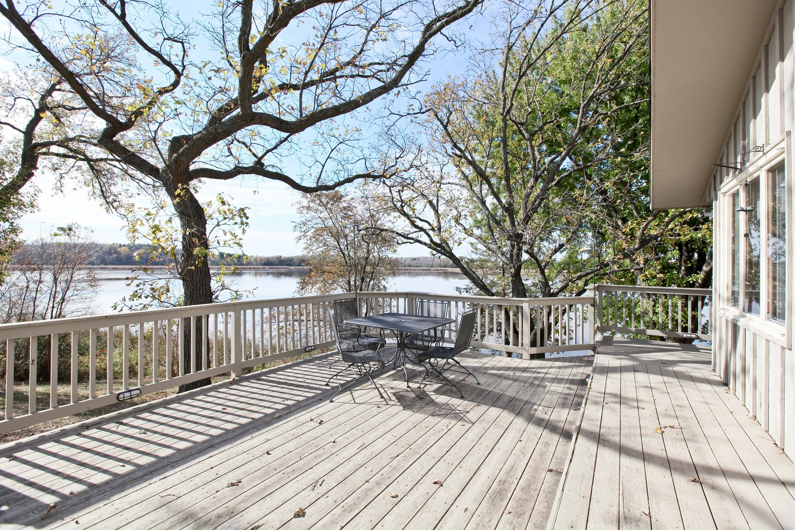 Real Estate Photography - 4500 Six Mile Creek Rd, Minnetrista, MN, 55375 - Deck