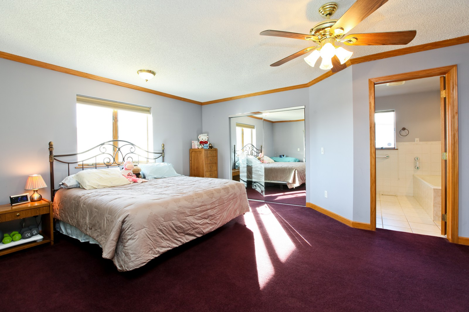 Real Estate Photography - 8095 Trail Haven Rd, Corcoran, MN, 55340 - Master Bedroom