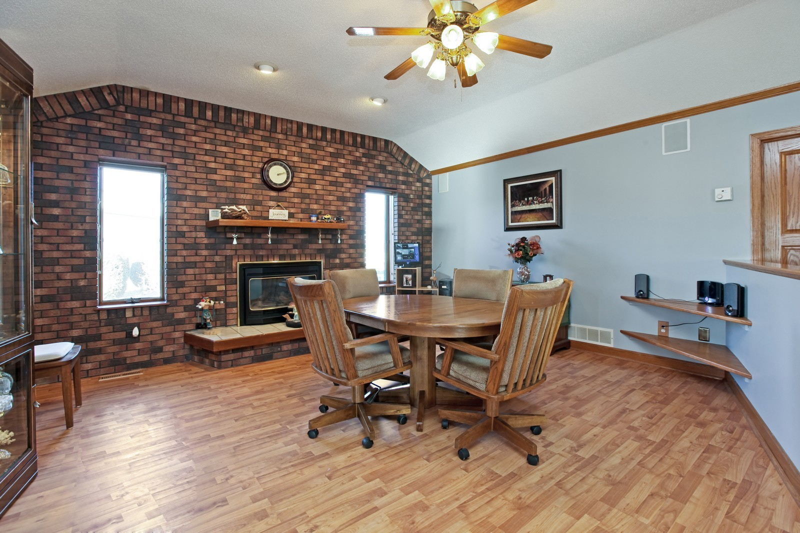 Real Estate Photography - 8095 Trail Haven Rd, Corcoran, MN, 55340 - Dining Room