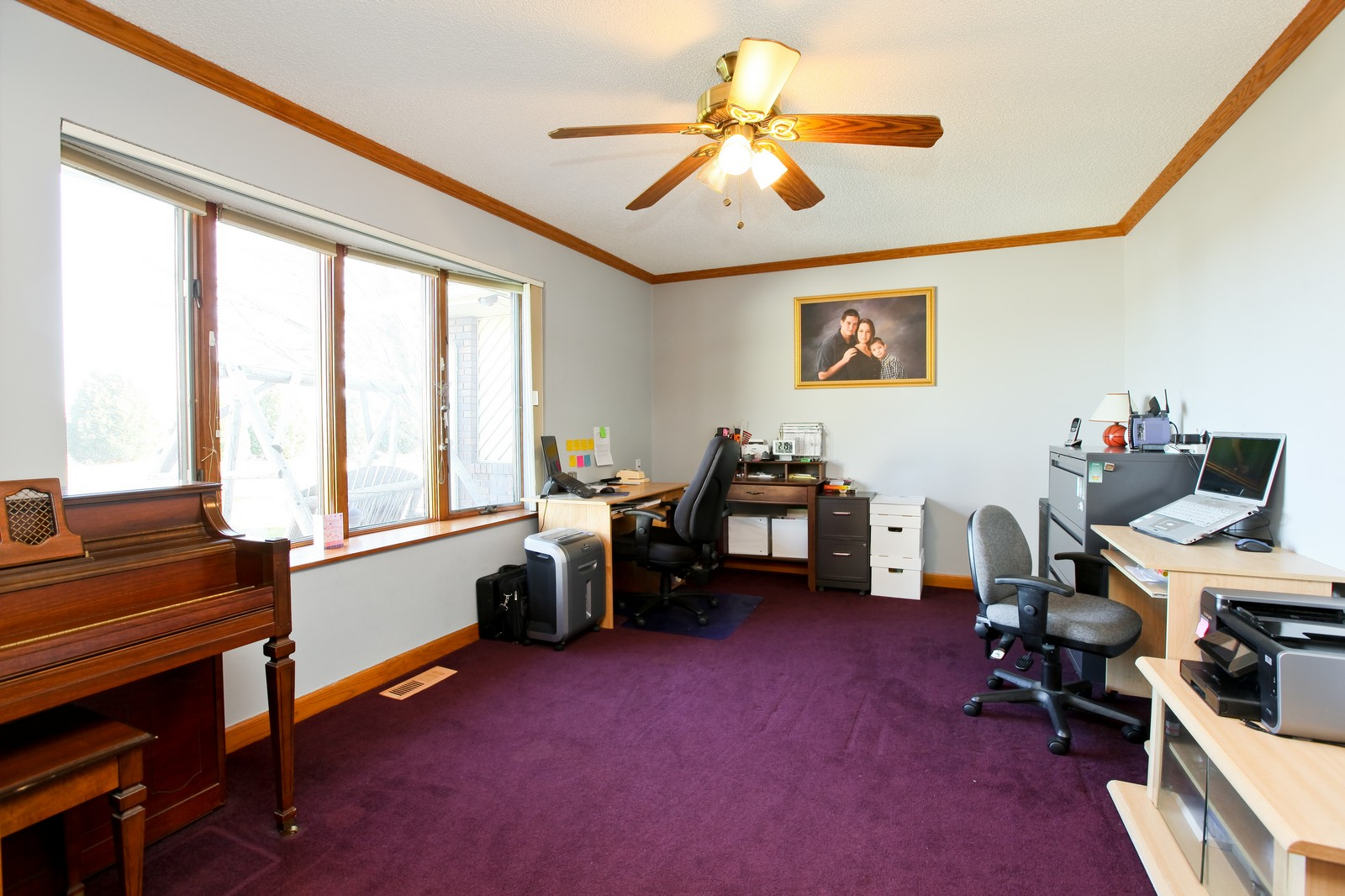 Real Estate Photography - 8095 Trail Haven Rd, Corcoran, MN, 55340 - Office