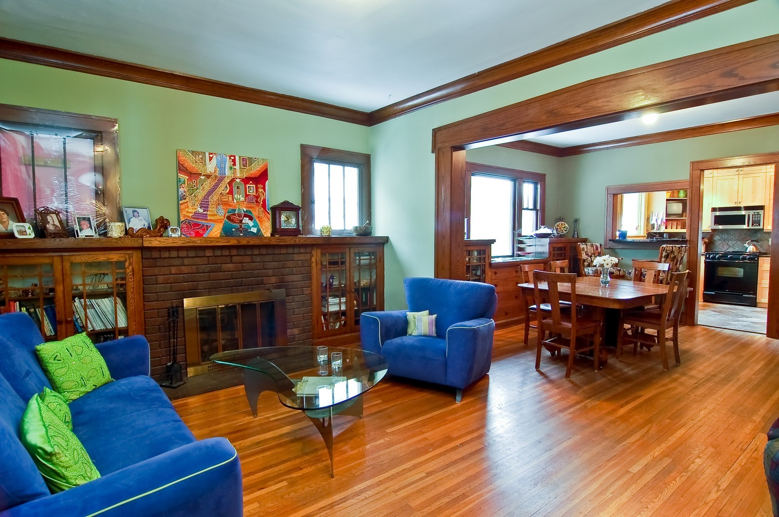 Real Estate Photography - 5012 Upton Avenue South, Minneapolis, MN, 55410 - Living Room