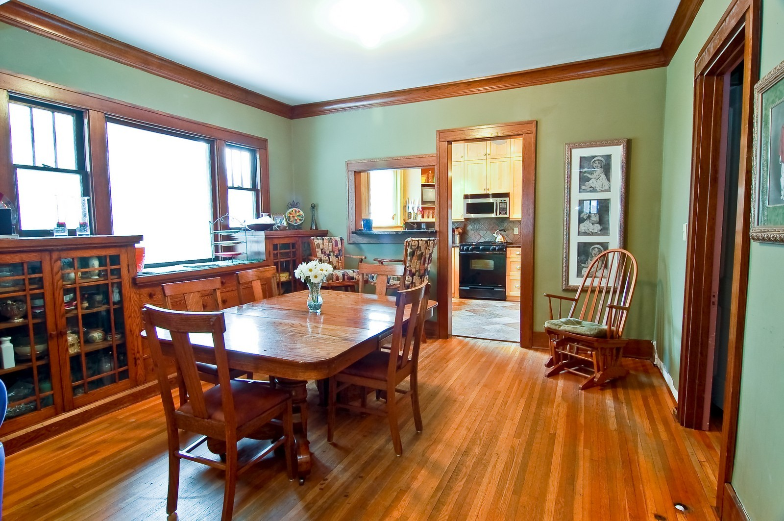 Real Estate Photography - 5012 Upton Avenue South, Minneapolis, MN, 55410 - Dining Room