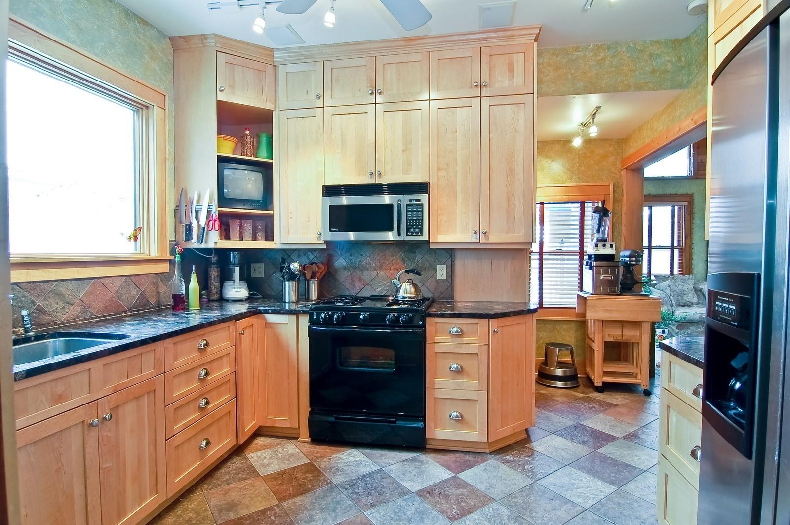 Real Estate Photography - 5012 Upton Avenue South, Minneapolis, MN, 55410 - Kitchen