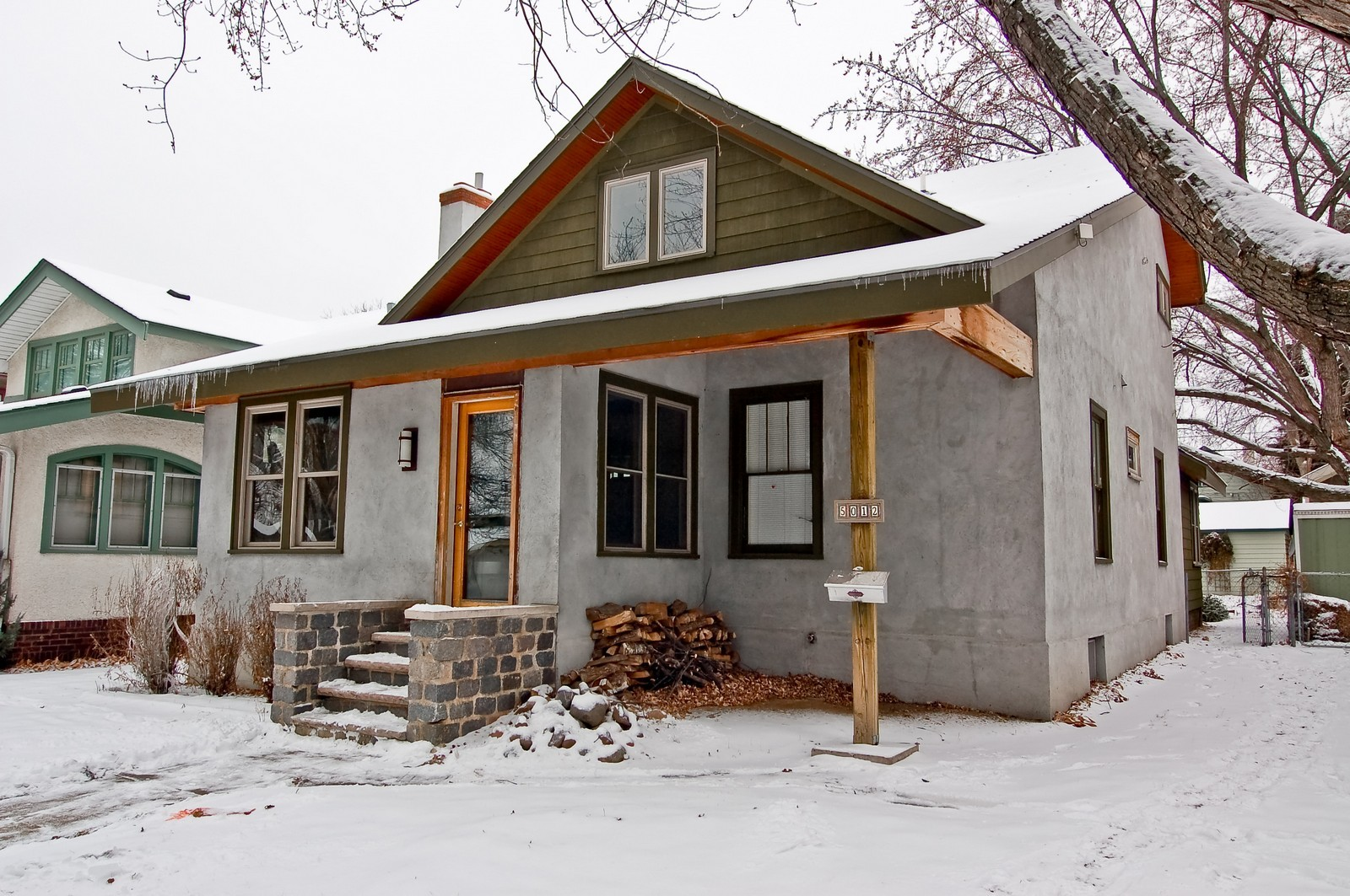 Real Estate Photography - 5012 Upton Avenue South, Minneapolis, MN, 55410 - Front View